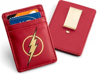 80% off The Flash Justice League Card Wallet with Money Clip