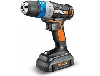 60% off WORX 20V Max Advanced Intelligence Lithium-Ion LED Ai Drill