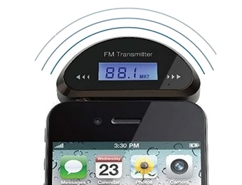 88% off Wireless Hands-Free FM Radio Transmitter Car Audio Music