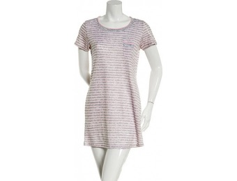 81% off Laura Ashley Stripe Brushed Hacci Sleepshirt