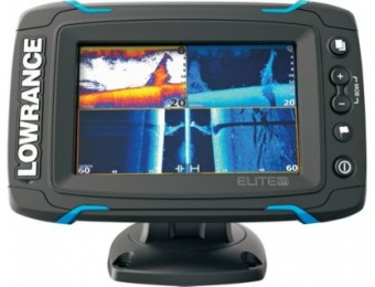 51% off Lowrance Elite-5 Ti Med/High Sonar/GPS Combo