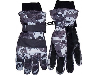 52% off N'Ice Caps Boys Cold Weather Waterproof Ski Gloves