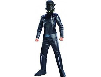 84% off Star Wars Rogue One: Child's Deluxe Death Trooper Costume