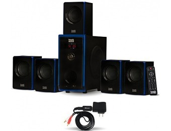 $180 off Acoustic Audio AA5102 Bluetooth 5.1 Speaker System