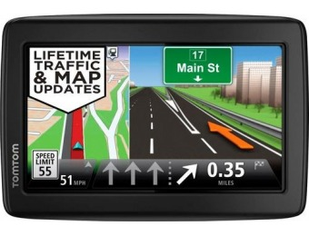 "$40 off TomTom VIA 1510TM Special Edition 5"" GPS with Lifetime Maps"