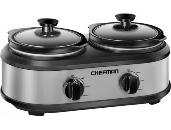58% off Chefman 2.5-Quart Slow Cooker
