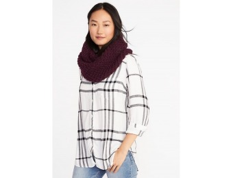 83% off Old Navy Womens Honeycomb-Knit Infinity Scarf
