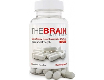 60% off FOCUS+ Brain Supplement And Memory Support Pill
