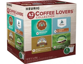31% off Keurig Coffee Lovers Variety Pack 42ct K-Cups