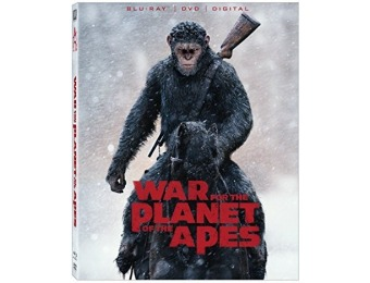 71% off War For The Planet Of The Apes (Blu-ray)
