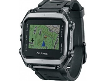 $250 off Garmin epix Topo GPS Watch - Stainless Steel