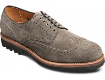 $118 off Allen Edmonds Tate Wingtip Suede Shoes