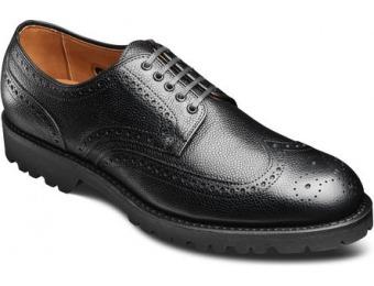 118 Off Allen Edmonds Tate Wingtip Grain Shoes