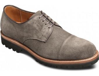 118 Off Allen Edmonds Tate Cap Toe Suede Shoes