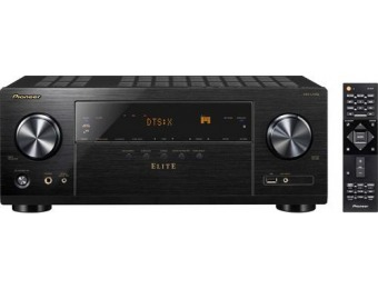 $215 off Pioneer Elite 7.2-Ch. 4K Ultra HD Home Theater Receiver