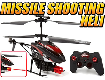 66% off Gyro Metal Missile Attack 3.5CH RTR RC Helicopter
