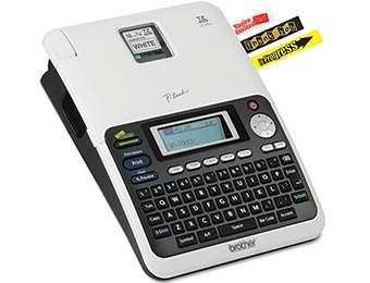 63% off Brother PT-2030AD Simply Professional Desktop Labeler