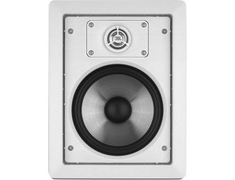 "$232 off JBL SP6II 80W 6-1/2"" Two-Way In-Wall Speakers (Pair)"