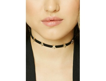 39% off Faux Suede Star Choker