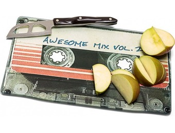 73% off Awesome Mix Vol. 2 Cutting Board