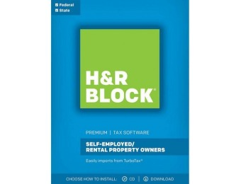 $10 GC + $36 off H&R Block Tax Software Premium 2017