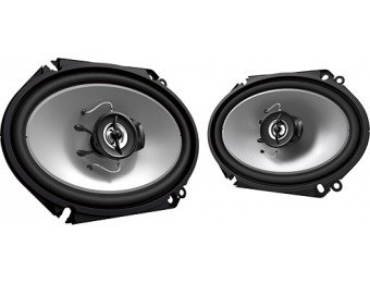 "58% off Kenwood Road Series 6"" x 8"" 2-Way Car Speaker (Pair)"