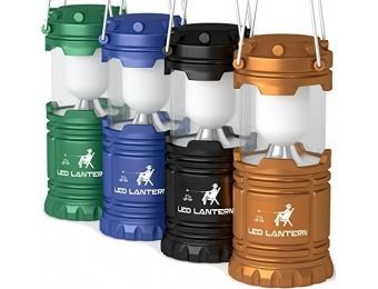 77% off MalloMe LED Camping Lantern 4 Pack Gift Set