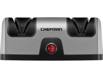 50% off Chefman Electric Knife Sharpener