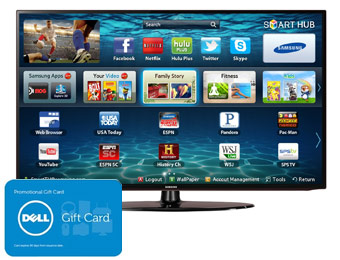 "$122 off Samsung UN32EH5300 32"" 1080p LED HDTV + $125 Gift Card"