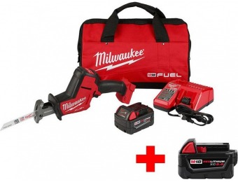 $129 off Milwaukee M18 Fuel Lithium-Ion Brushless Hackzall Kit