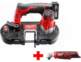 33% off Milwaukee M12 Cordless Sub-Compact Band Saw XC Kit