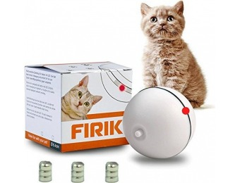 64% off Interactive Automatic Rolling Light for Cats and Dogs