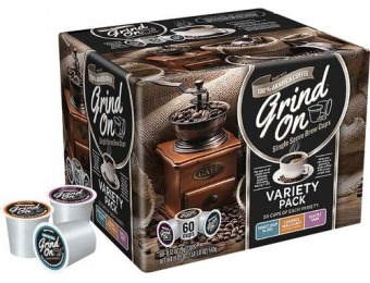 50% off Grind On - Variety Pack K-Cups (60-Pack)