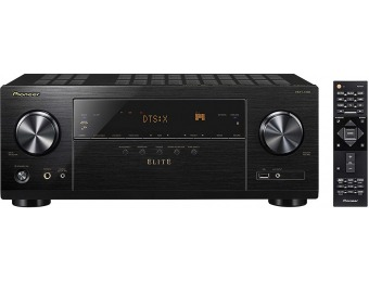 $150 off Pioneer Elite 7.2-Ch. Dolby Atmos & DTS:X 4K Ultra HD Receiver
