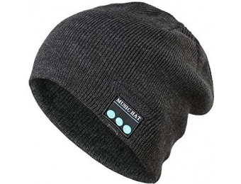 78% off Soft Warm Beanie Hat Wireless Bluetooth Headphones