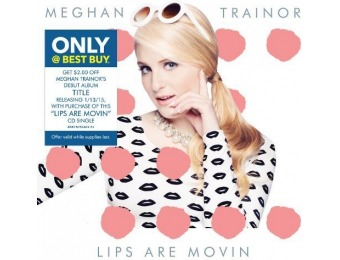 50% off Meghan Trainor: Lips Are Movin (CD)