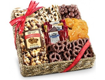 82% off Golden State Chocolate, Nuts and Crunch Gift Basket
