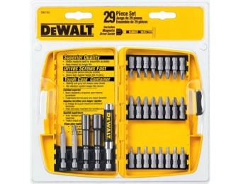 44% off DeWalt 29-Piece Screwdriver Bit Set
