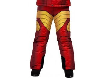 85% off Iron Man Kids Superhero Snow Pants
