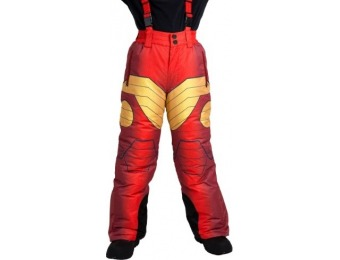 84% off Iron Man Superhero Snow Pants