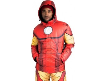 83% off Iron Man Superhero Snow Jacket