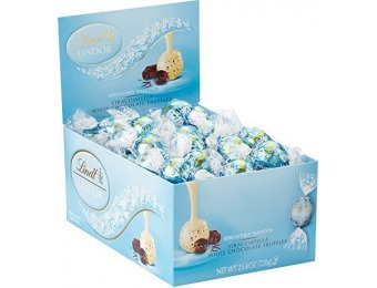 46% off Lindt LINDOR Stracciatella White Chocolate Truffles, 60 Ct