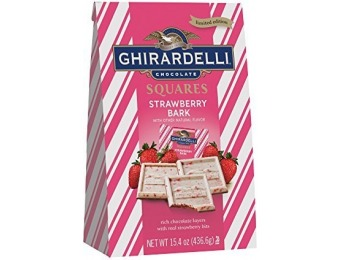 15% off Ghirardelli Valentine Strawberry Bark Squares