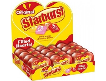 20% off Starburst Valentine's Day Candy Filled Heart, 12 Pack