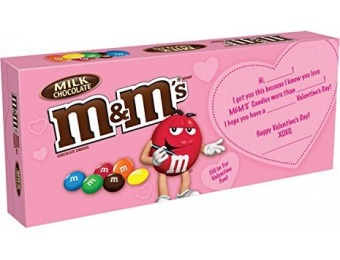 20% off M&M'S Valentine's Milk Chocolate Candy (Pack of 12)