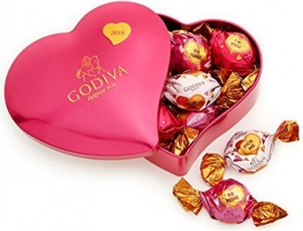 34% off Godiva Chocolatier Valentine's Day 2018 Heart Gift Tin