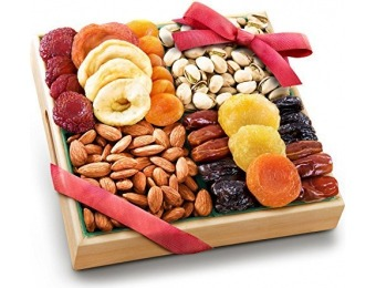 78% off Golden State Fruit Pacific Coast Classic Dried Fruit Tray Gift