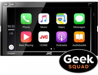"$300 off JVC KW-M730BT 6.8"" Android Auto/Apple CarPlay Receiver"