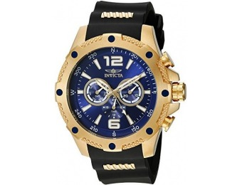 89% off Invicta Men's 19659 I-Force 18k Gold Ion-Plated Watch