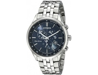 $240 off Citizen Men's AT2141-52L Silver-Tone Stainless Steel Watch